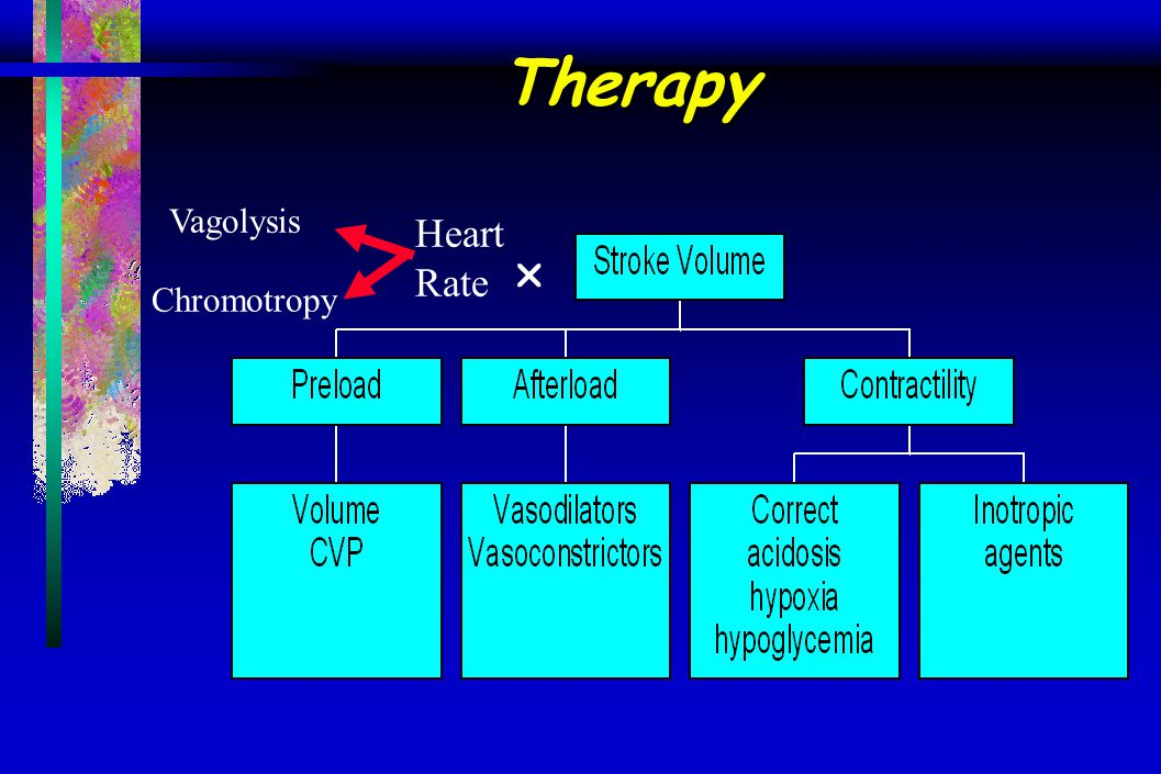 Therapy Vagolysis Heart Rate  Chromotropy