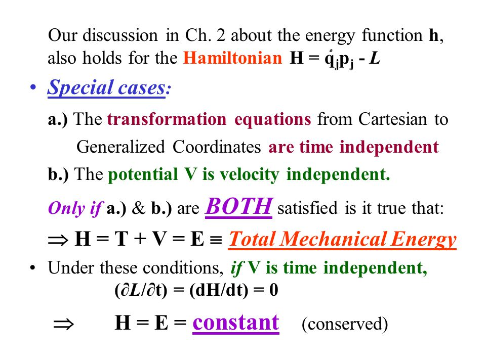 a.) The transformation equations from Cartesian to