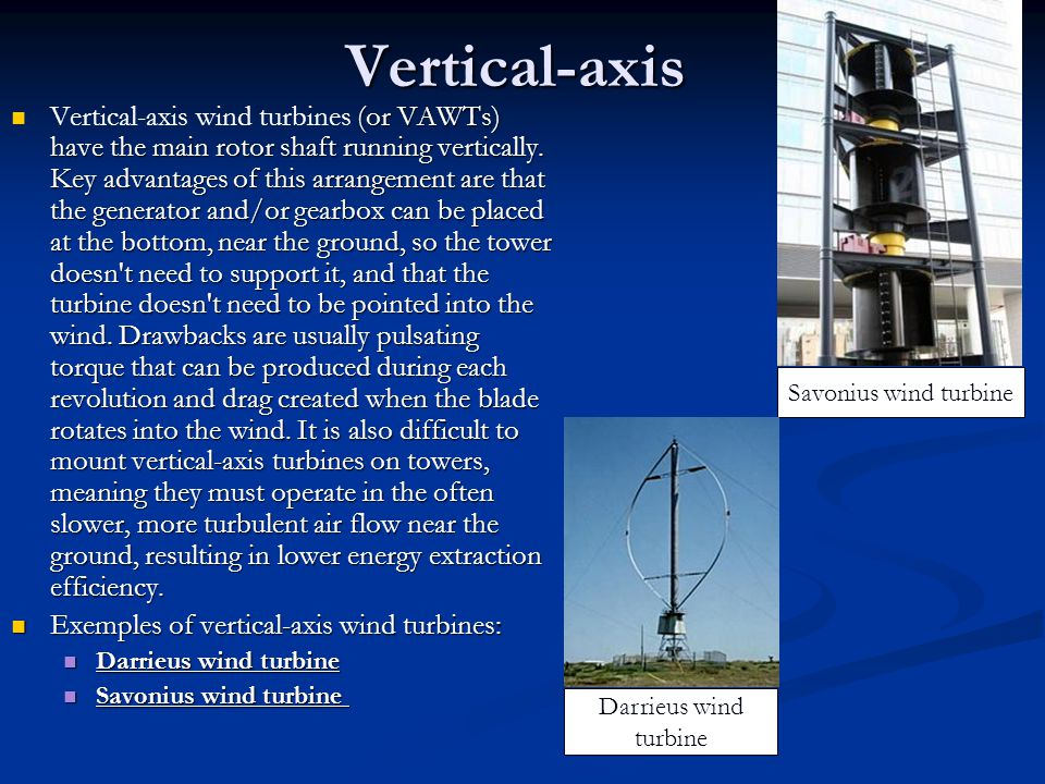 Vertical-axis
