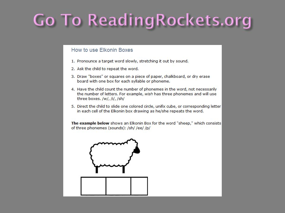 Go To ReadingRockets.org