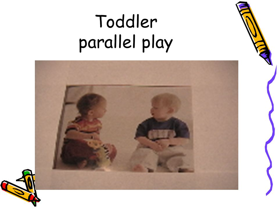 Toddler parallel play