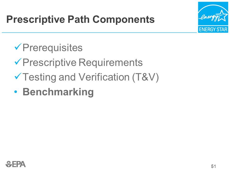 Prescriptive Path Components