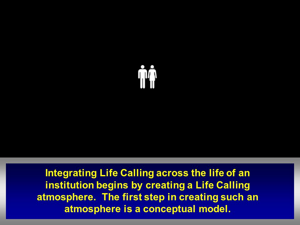 Integrating Life Calling across the life of an institution begins by creating a Life Calling atmosphere.