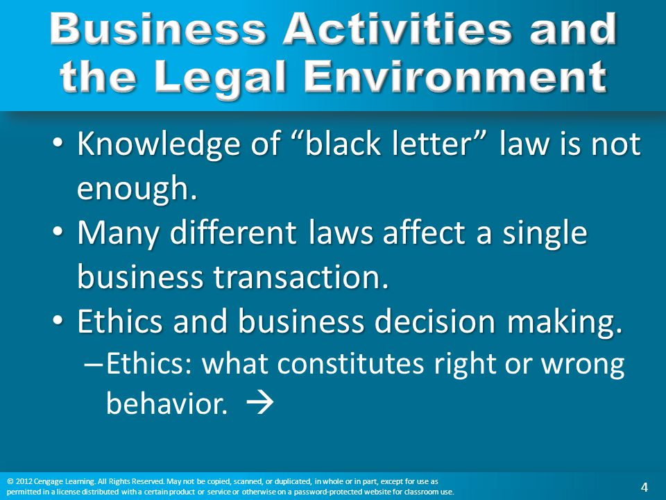 Chapter 1 The Legal Environment ppt