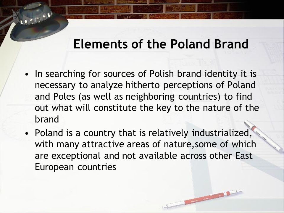 Elements of the Poland Brand