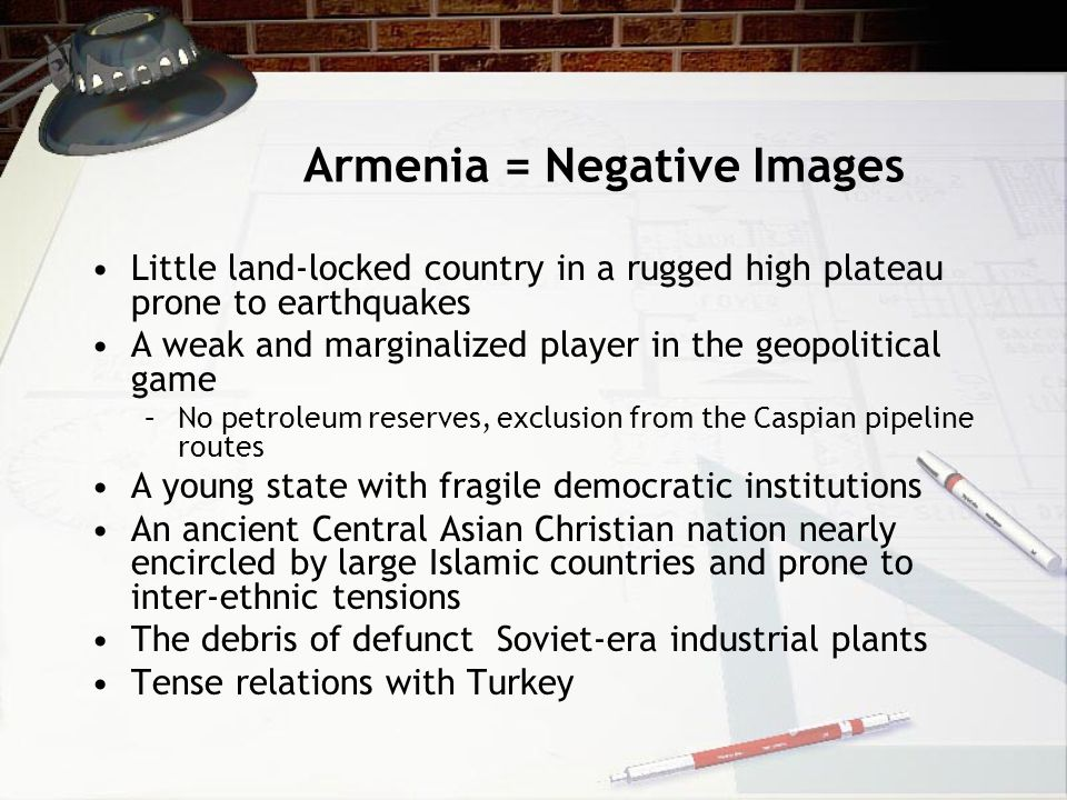 Armenia = Negative Images