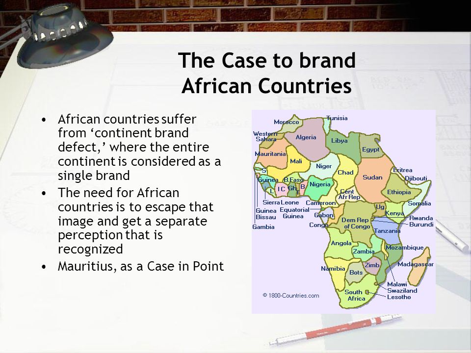 The Case to brand African Countries