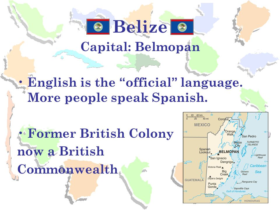 Belize Capital: Belmopan