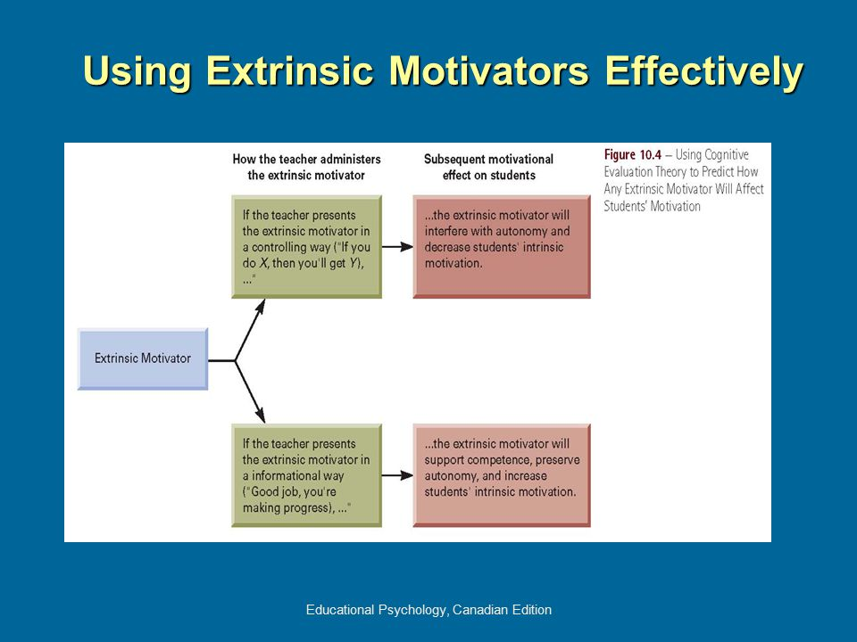 Using Extrinsic Motivators Effectively