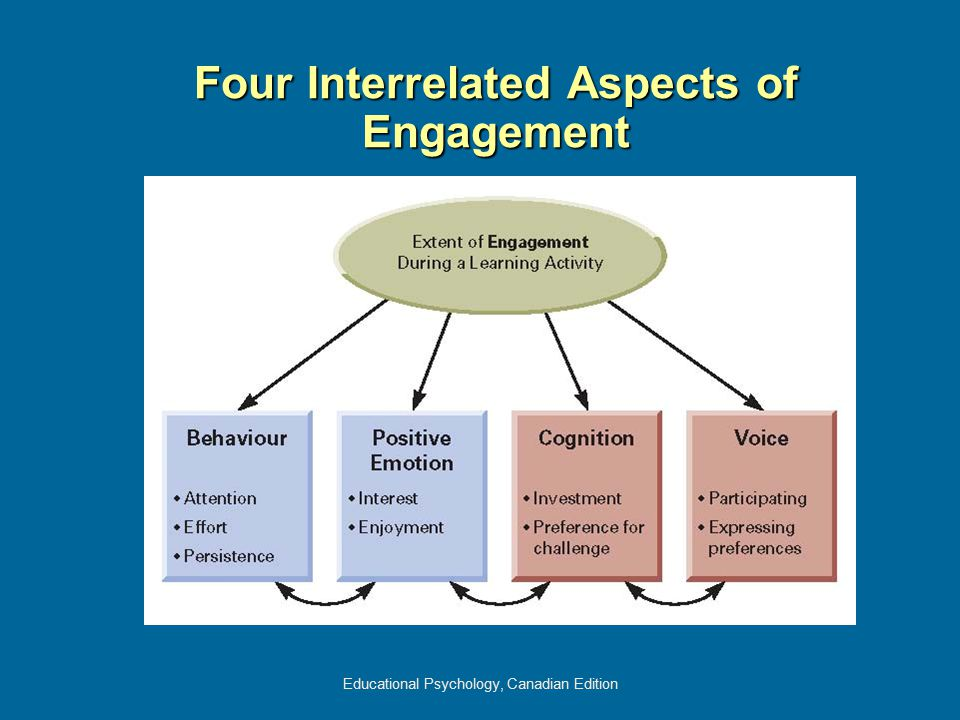 Four Interrelated Aspects of Engagement