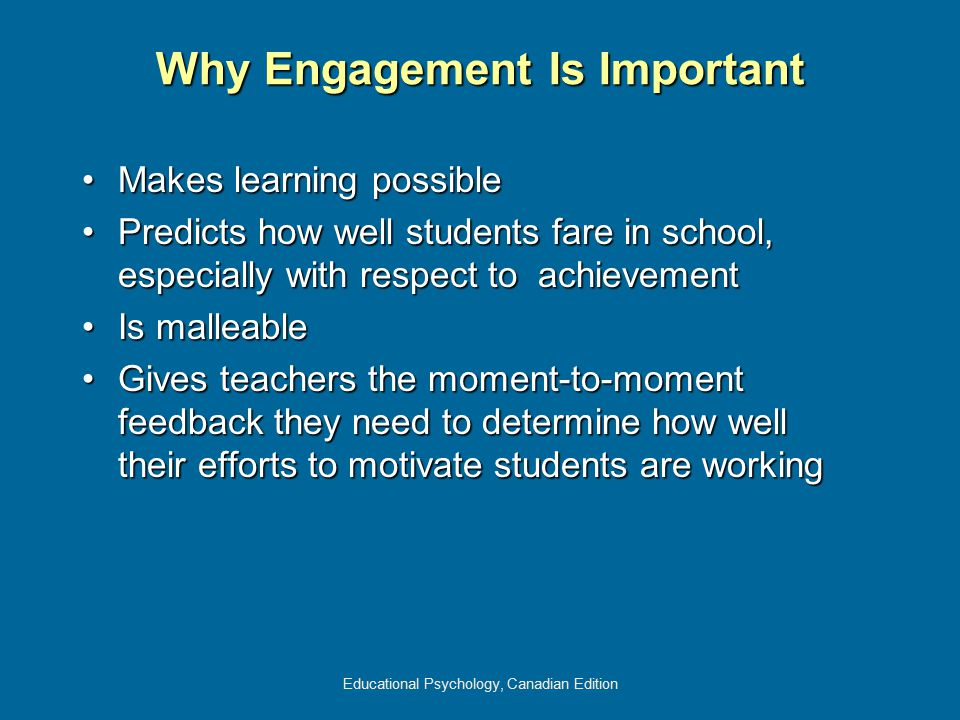 Why Engagement Is Important