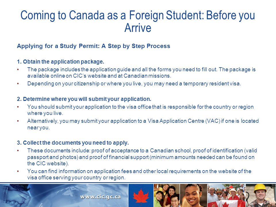 Coming to Canada as a Foreign Student: Before you Arrive