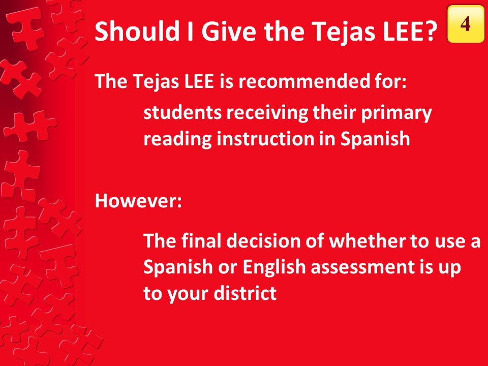 Should I Give the Tejas LEE