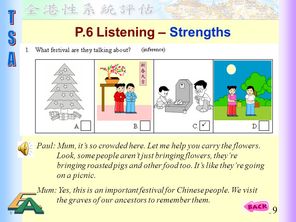 P.6 Listening – Strengths