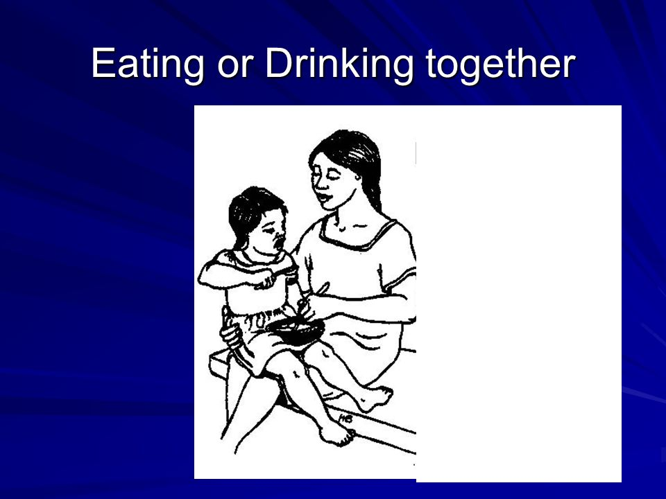 Eating or Drinking together