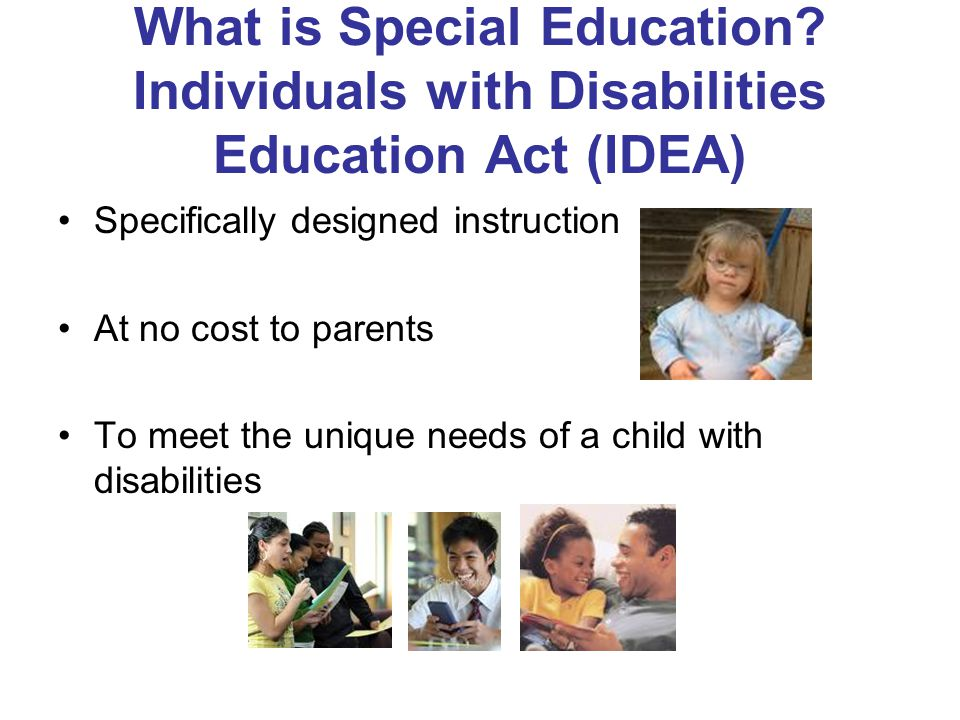 What is Special Education