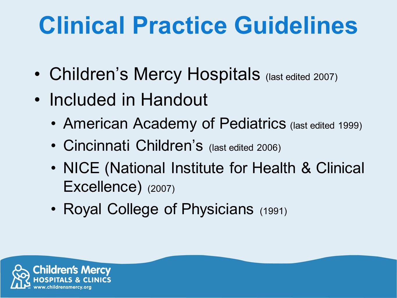 american academy of pediatrics fever guidelines pdf