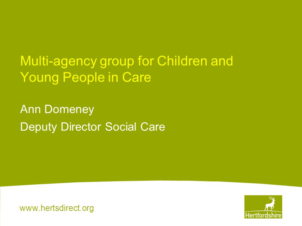Multi-agency group for Children and Young People in Care
