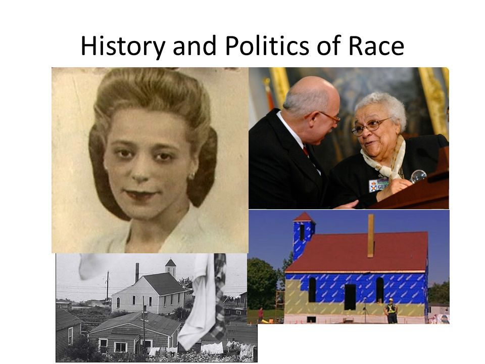 History and Politics of Race
