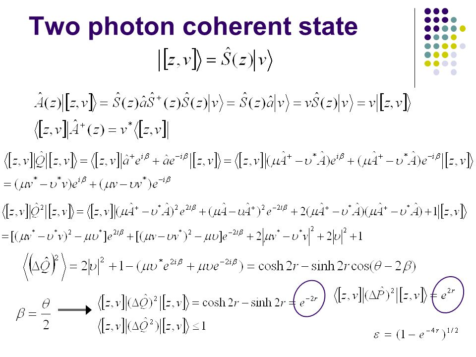 Two photon coherent state