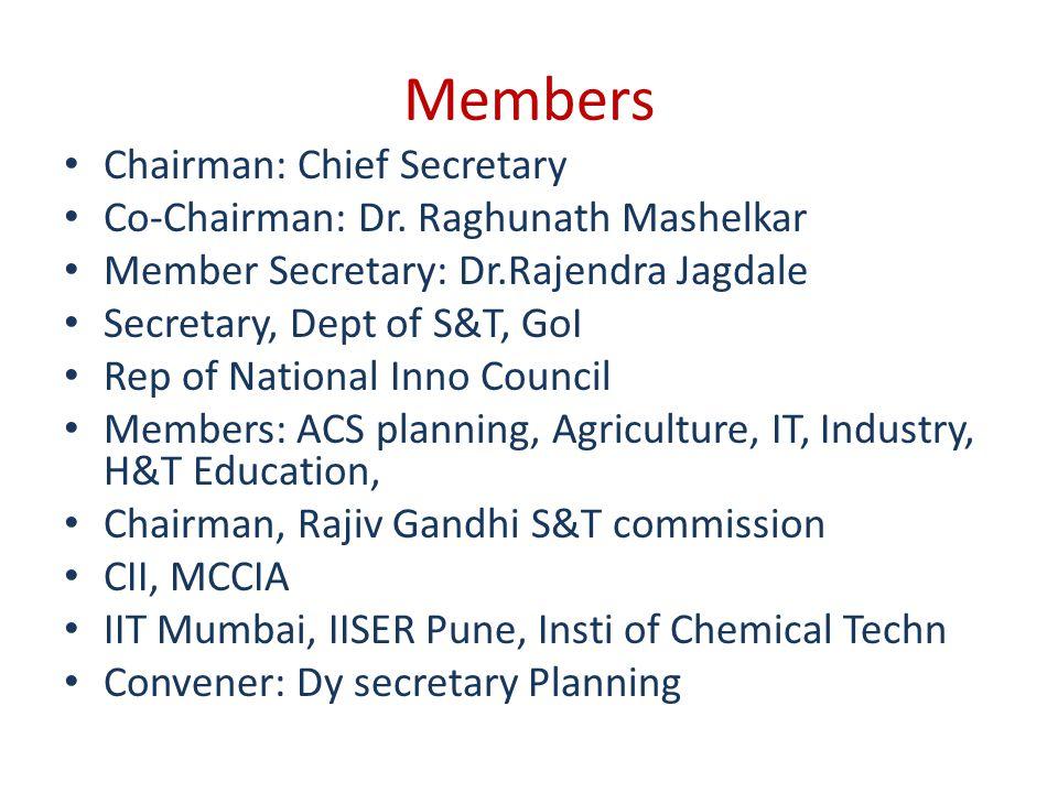 Maharashtra State Innovation Council Presentation by K P