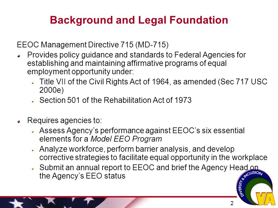 Background and Legal Foundation