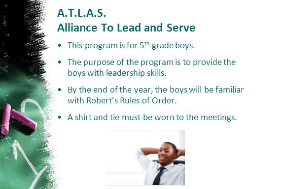 A.T.L.A.S. Alliance To Lead and Serve