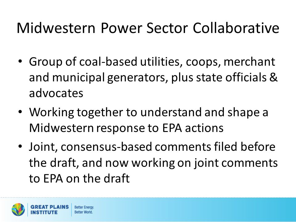 Midwestern Power Sector Collaborative