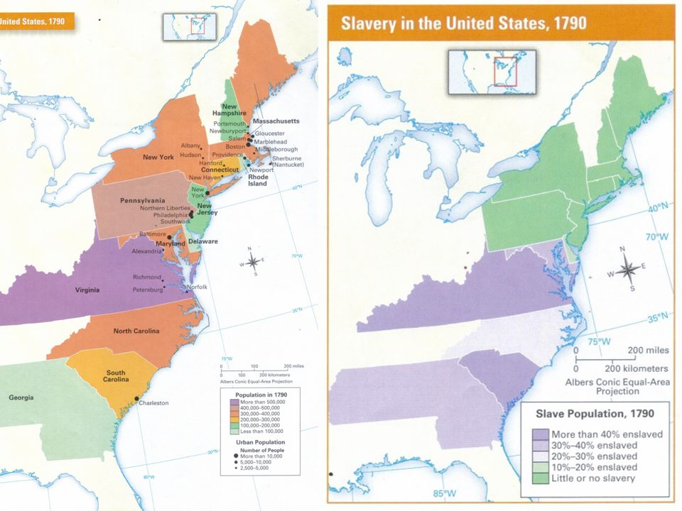Lesson 2: The Geography of the United States in 1790