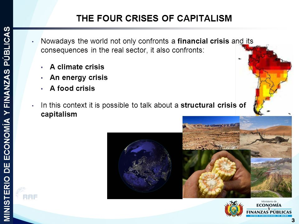 THE FOUR CRISES OF CAPITALISM