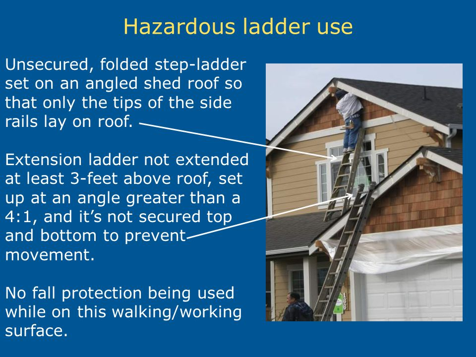Ladder Safety In Construction Ppt Video Online Download