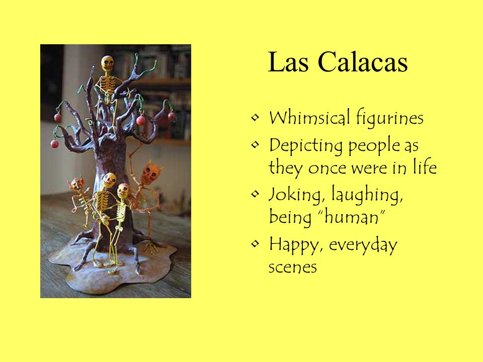 Las Calacas Whimsical figurines