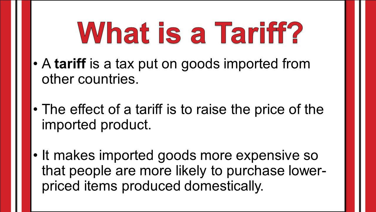 What is the tariff 2