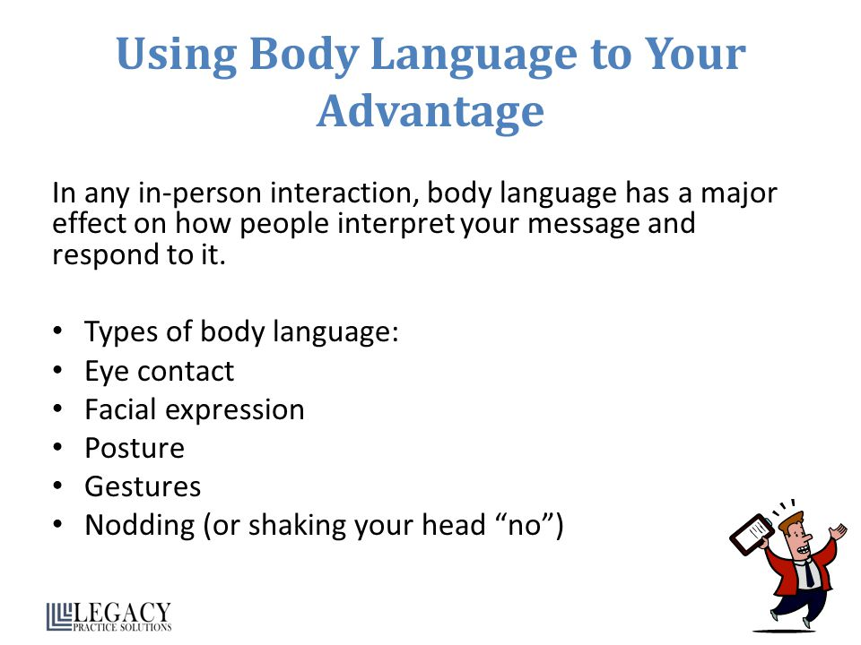 Using Body Language to Your Advantage