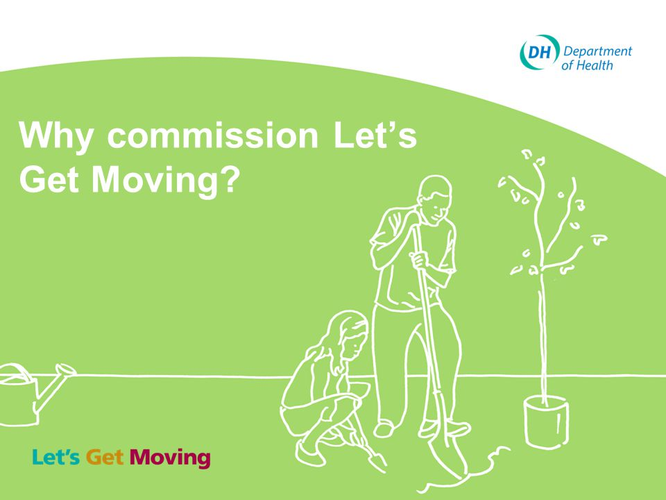 Why commission Let's Get Moving