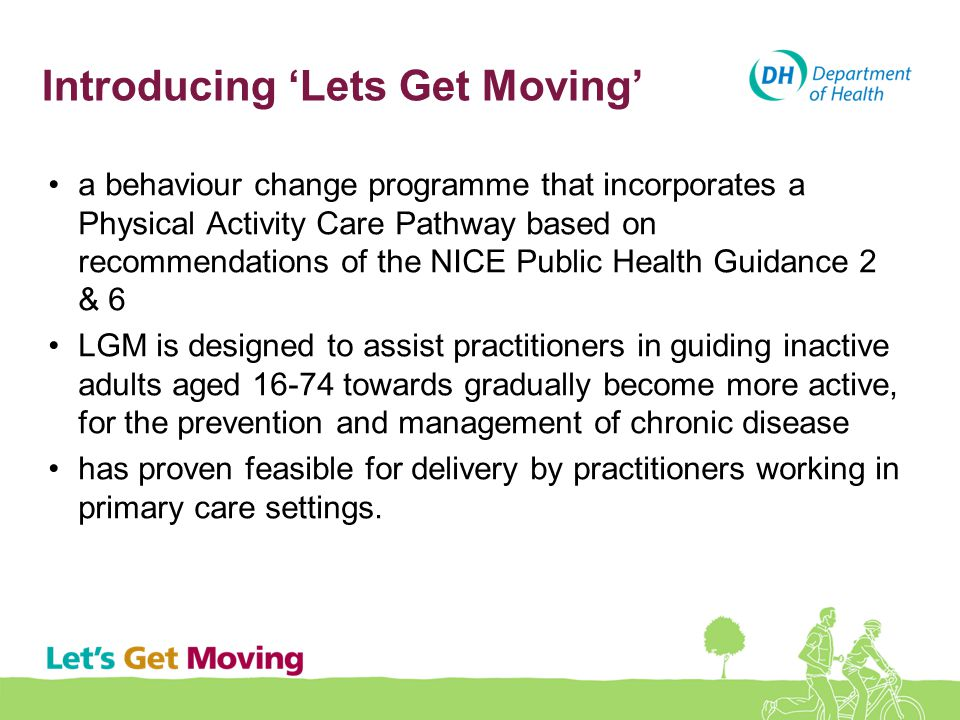Introducing 'Lets Get Moving'