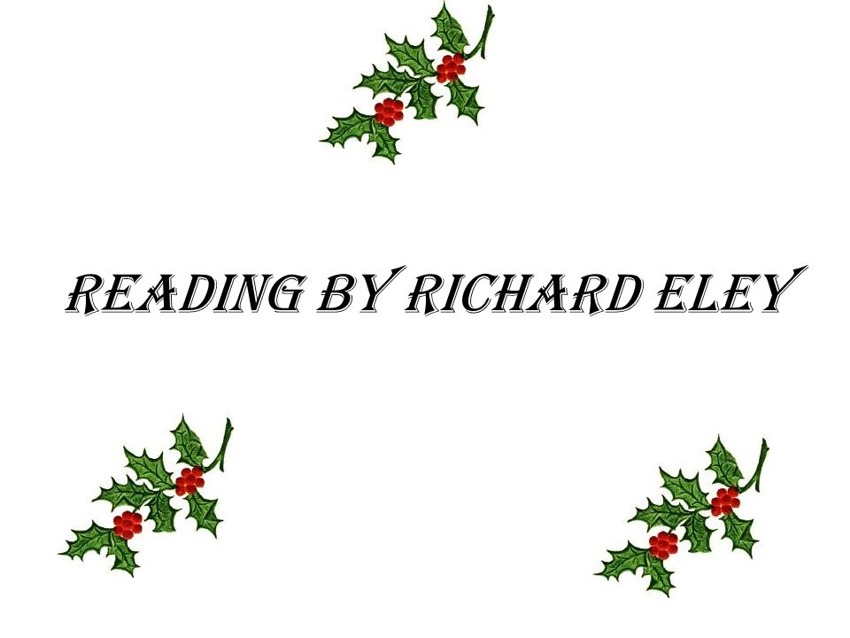 Reading by Richard Eley