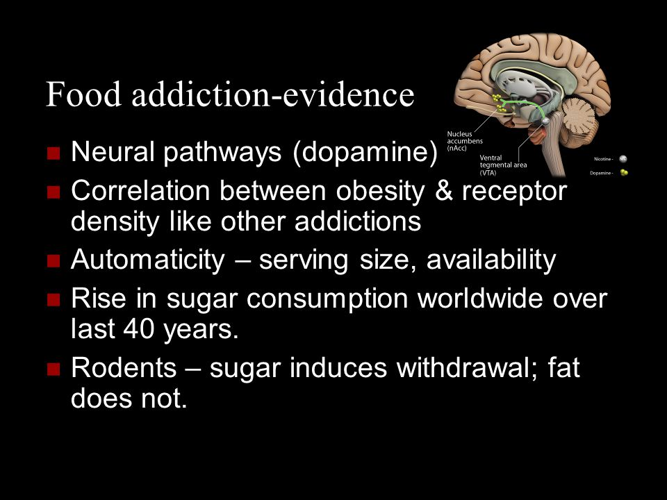 Food addiction-evidence