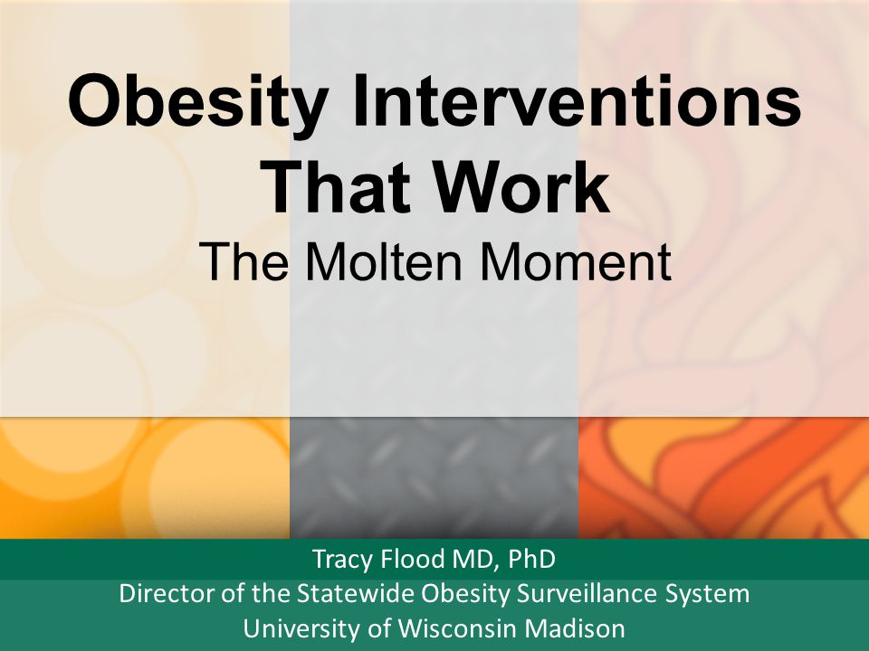 Obesity Interventions That Work