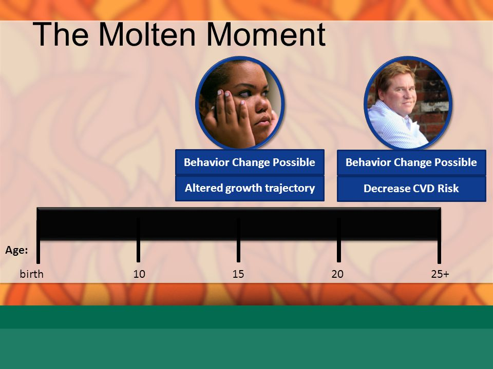 The Molten Moment Behavior Change Possible Behavior Change Possible