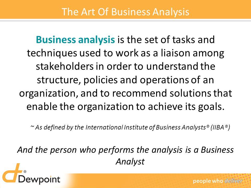 Business analysis presentation final.