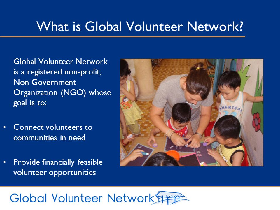 What is Global Volunteer Network
