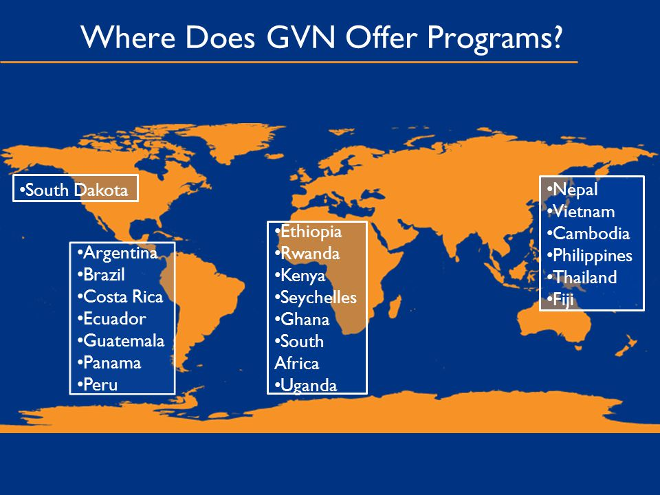Where Does GVN Offer Programs