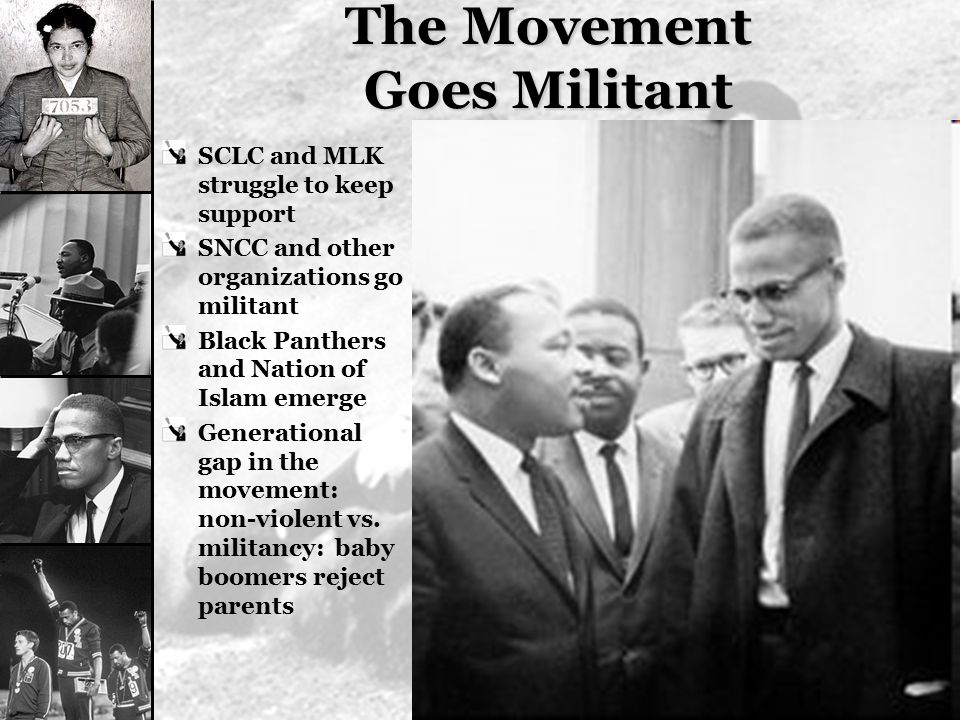 The Movement Goes Militant