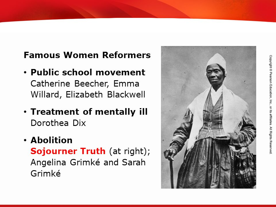 Famous Women Reformers