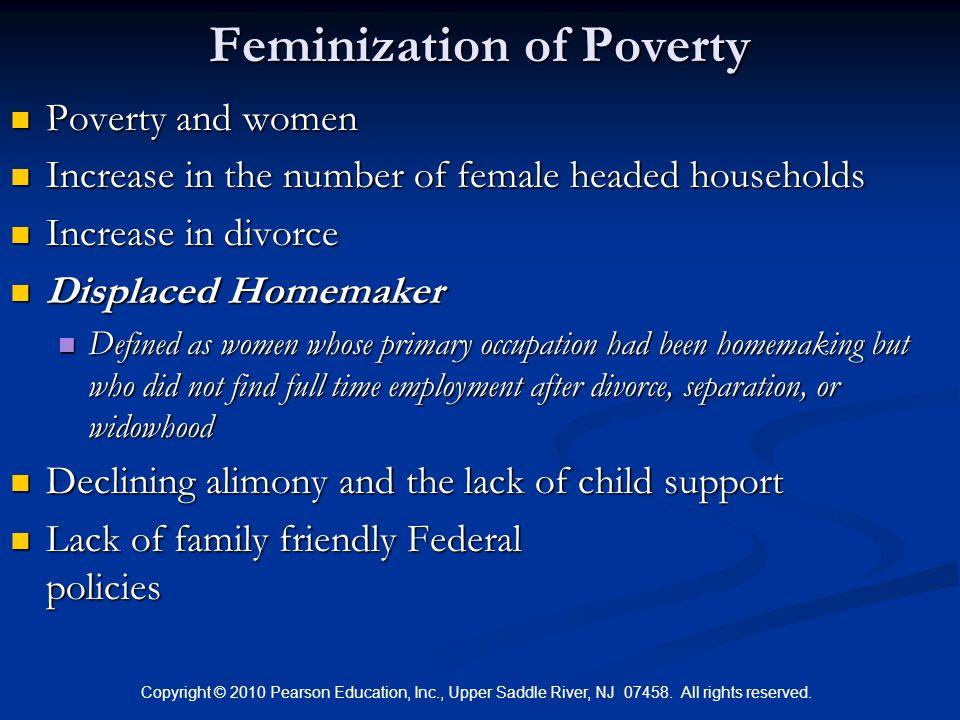 define female headed households
