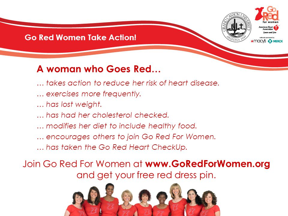 Go Red Women Take Action!