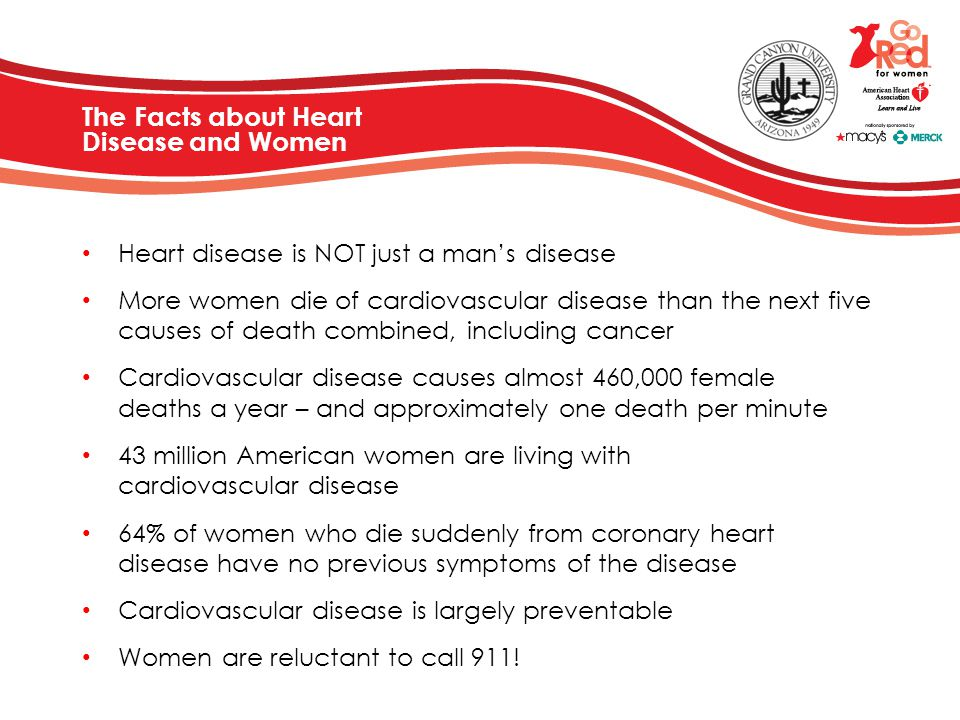The Facts about Heart Disease and Women