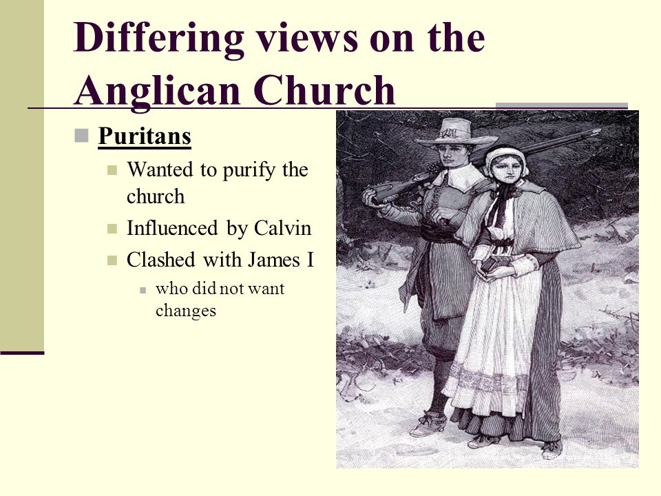 Differing views on the Anglican Church