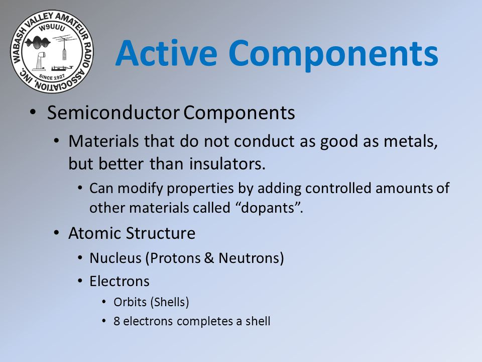 Chapter 4 components circuits part 2 ppt download chapter 4 components circuits part 2 2 active components semiconductor components publicscrutiny Gallery